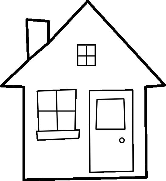 House With Windows Clip Art Vector Clip Art Online