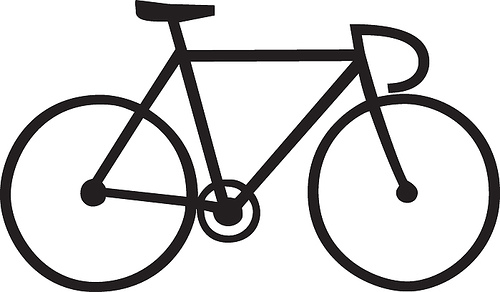 Line Drawing Bike : Bike drawing clipart best