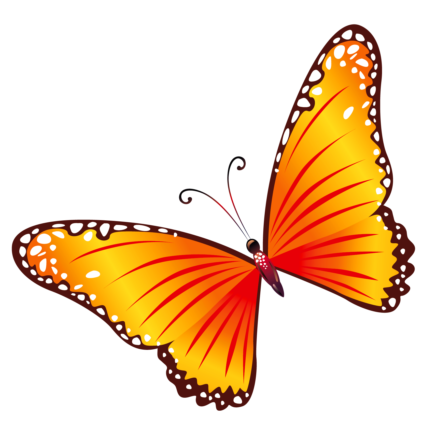 Flying Butterflies Png - ClipArt Best