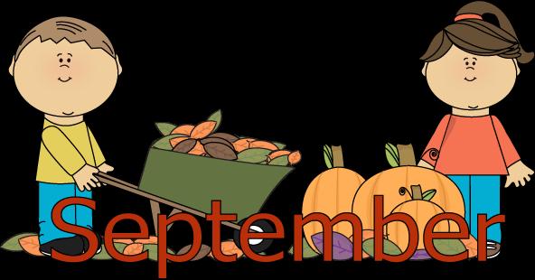 Month September Clipart - ClipArt Best
