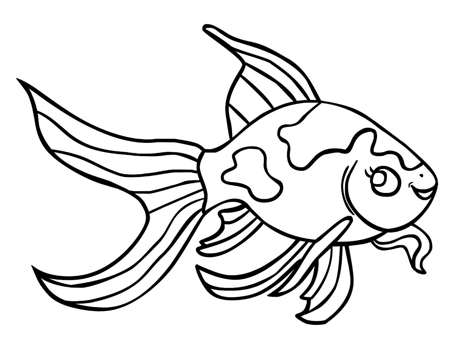 Free coloring book printouts - Co Coloring Pages Fish Free Gold Fish Coloring Pages Printable Goldfish Coloring Pages Coloringkids Co