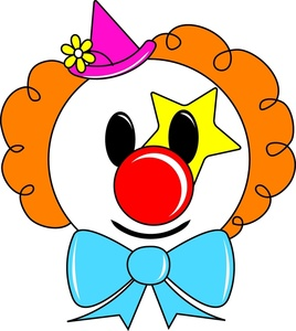 Cartoon Clown Face - ClipArt Best