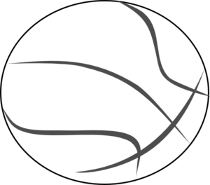 Basketball Player Clipart Black And White - Free ...