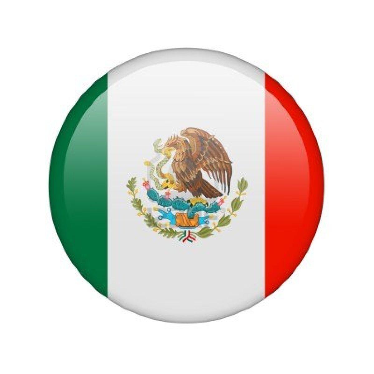 Mexico Flag Vector - ClipArt Best