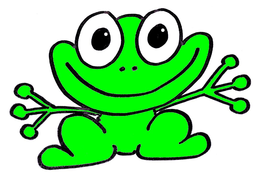 Pictures Of Animated Frogs - ClipArt Best