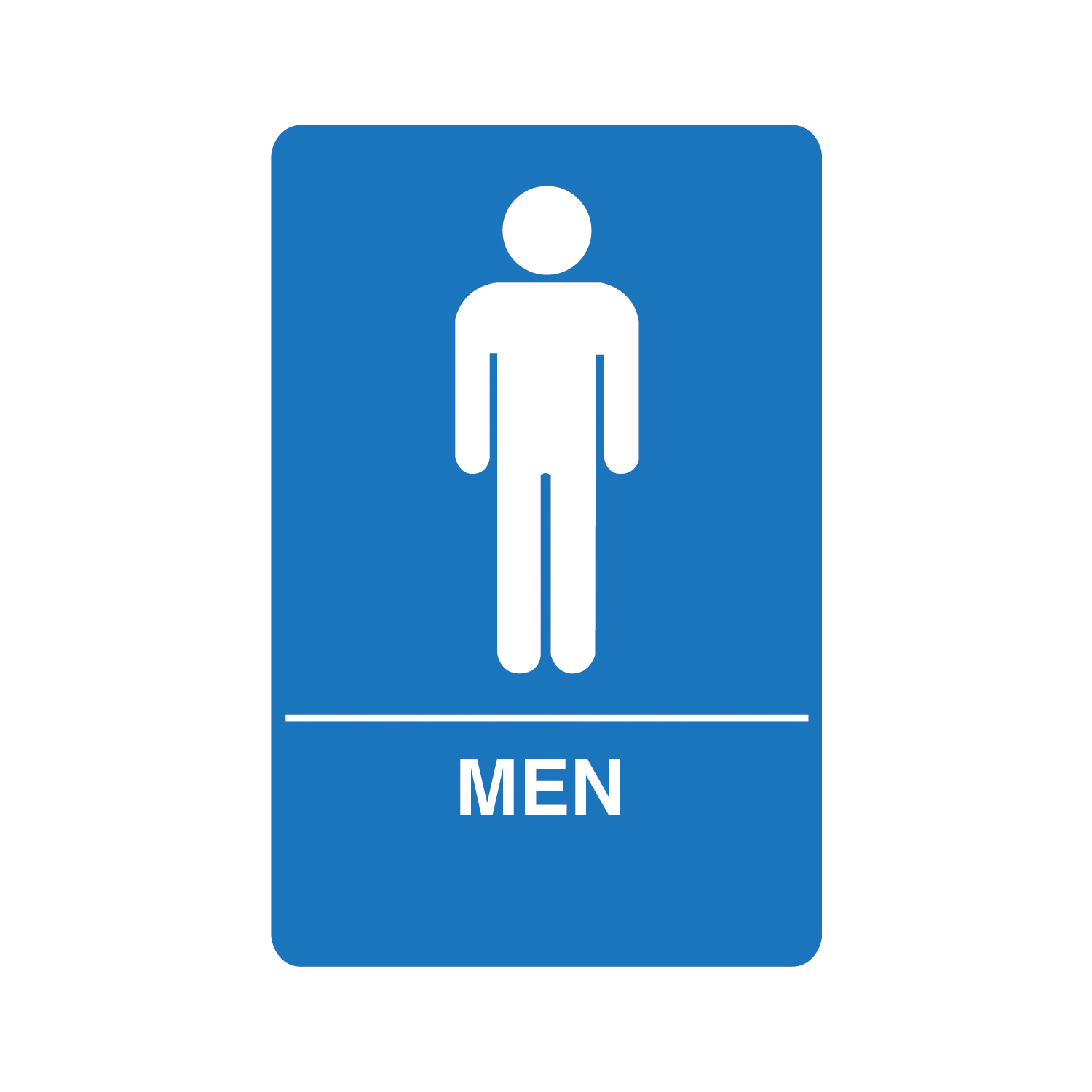Girls bathroom sign outline -  Bathroom Signs Man Clipart Bathroom Shop The Hillman Group 6 In X 9 In Men Handicap Accessible