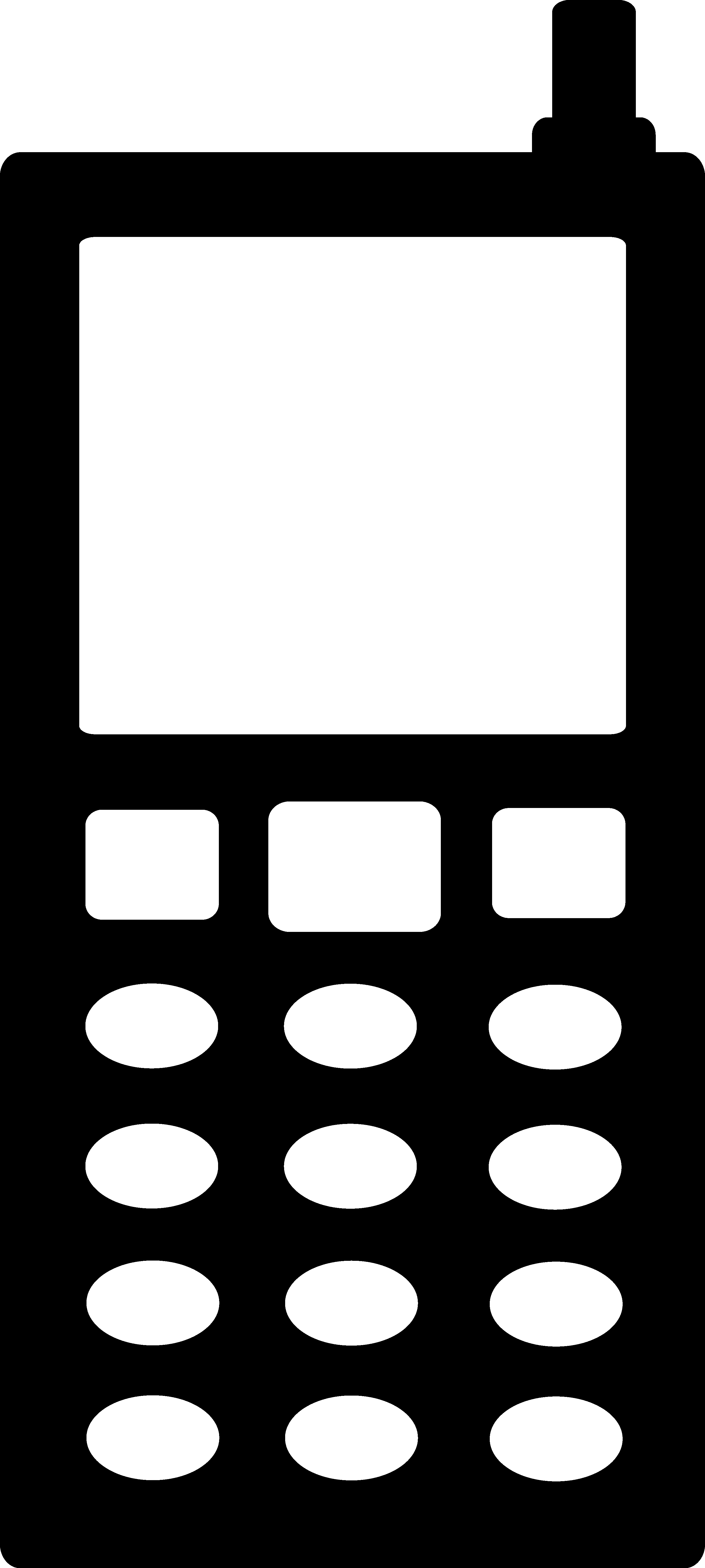 Free clipart telephone symbol