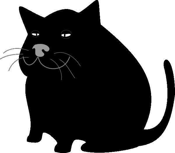 Fat Cat Clipart - ClipArt Best