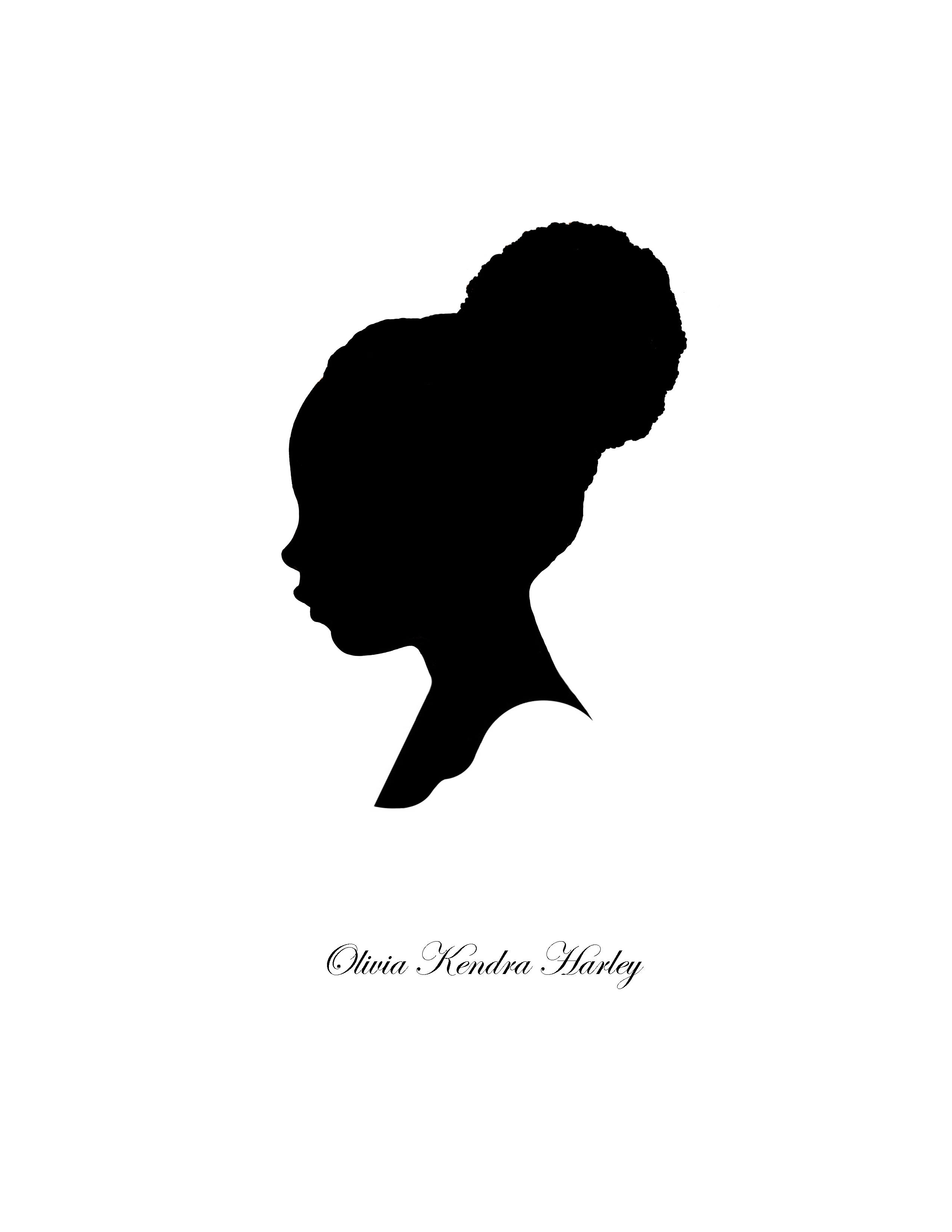 Woman Face Silhouette - ClipArt Best