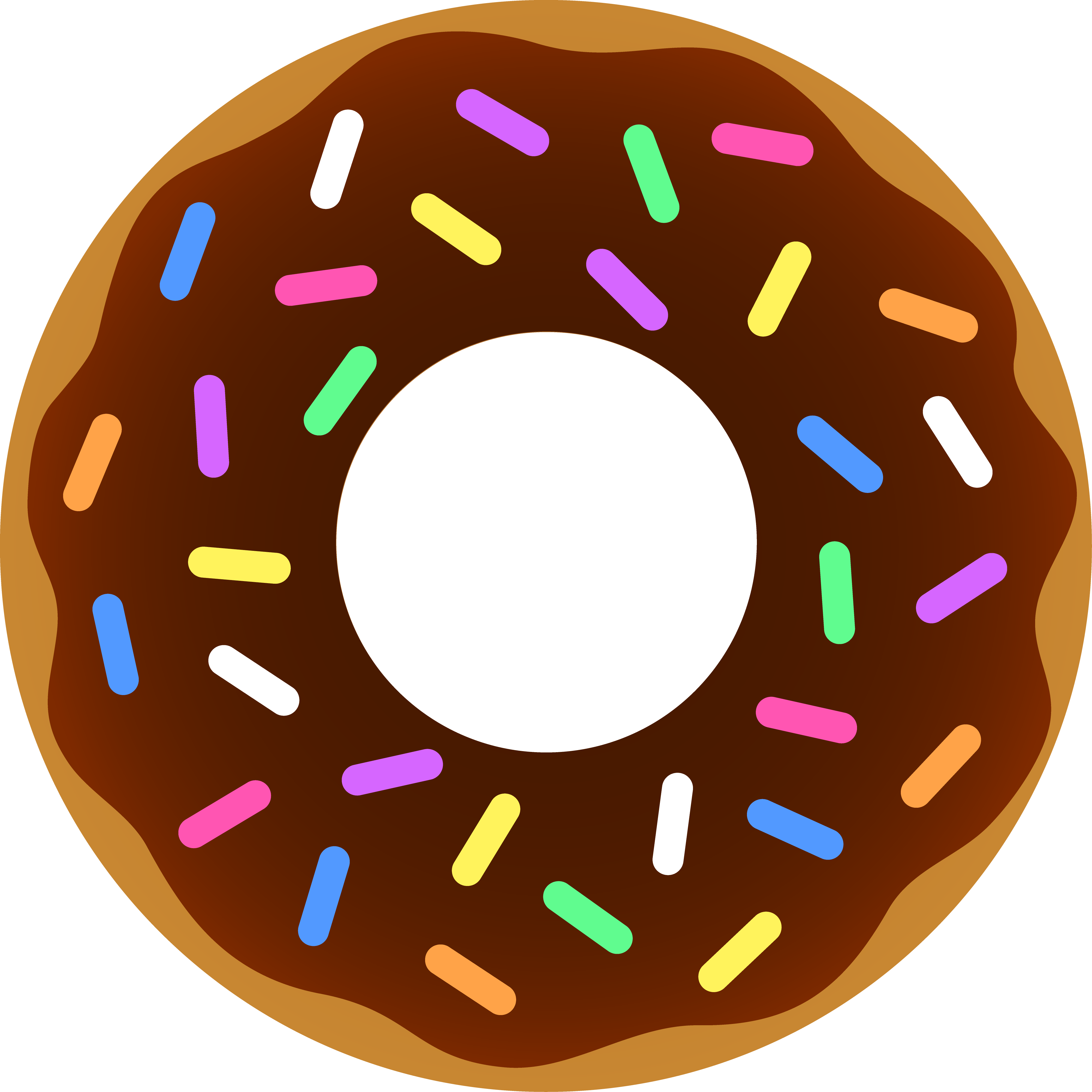 Donut Clipart - ClipArt Best