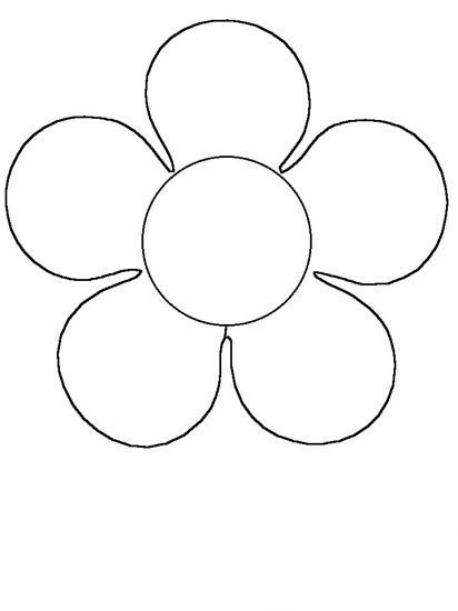 flower clip art color - photo #50