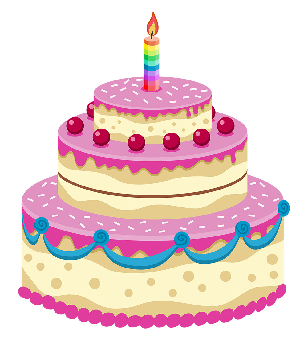 Cartoon Picture Of A Birthday Cake - ClipArt Best