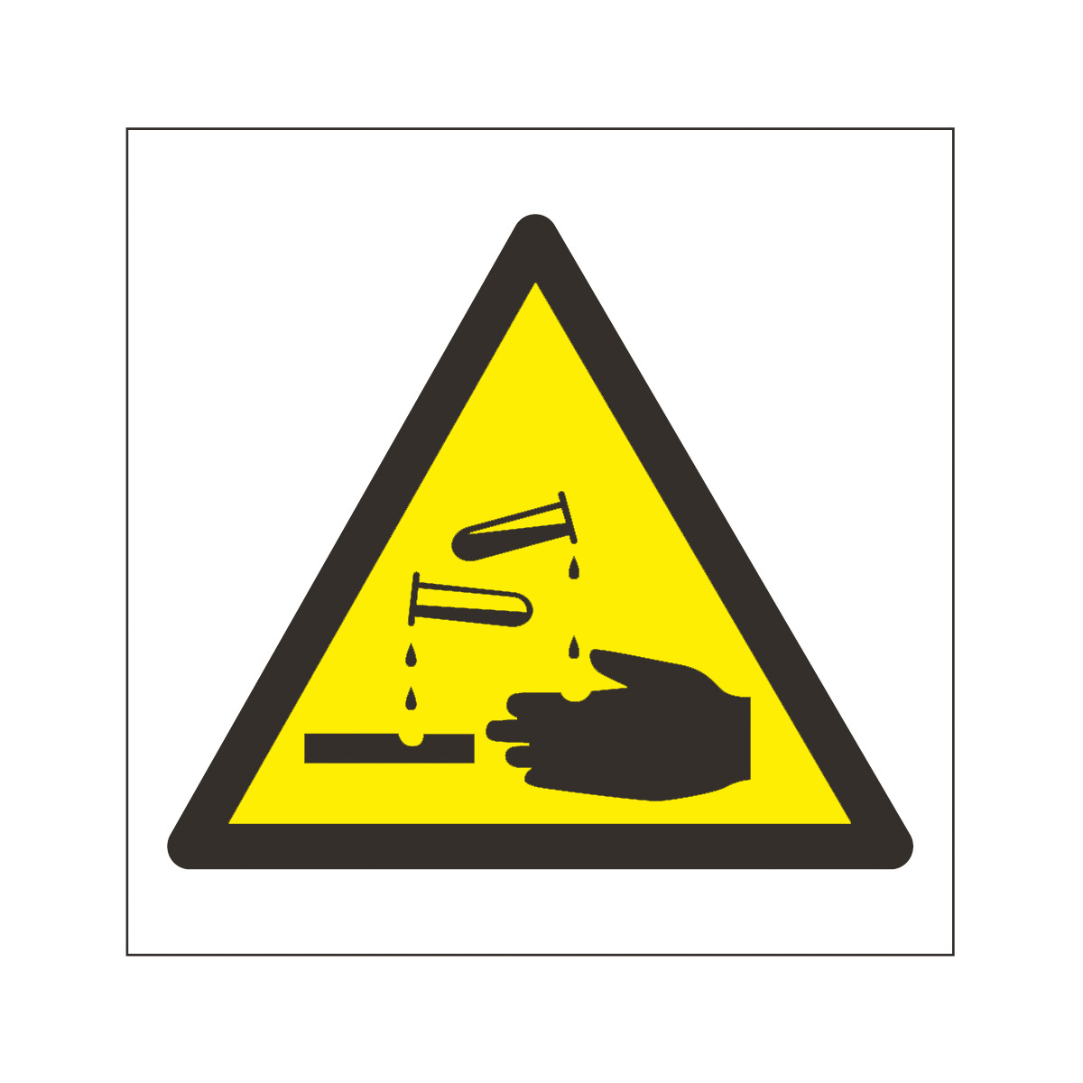 Symbol For Corrosive - ClipArt Best