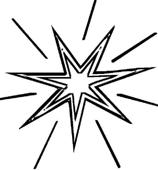the north star Colouring Pages