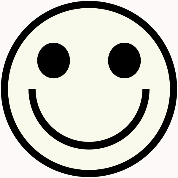 Cartoon Happy Face Black And White Happy Face Clipart Black And