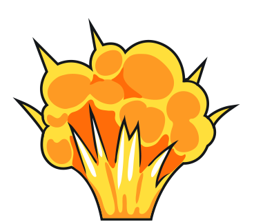 Animated Explosion - C...