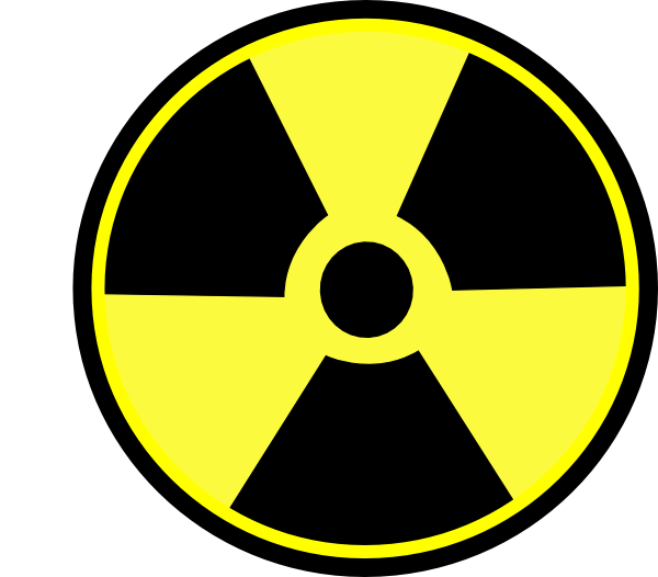 Radioactive Sign clip art - vector clip art online, royalty free ...