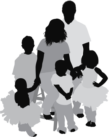Jpg Freeuse Download Family Of 4 Clipart - Parents Clip Art - Free  Transparent PNG Download - PNGkey