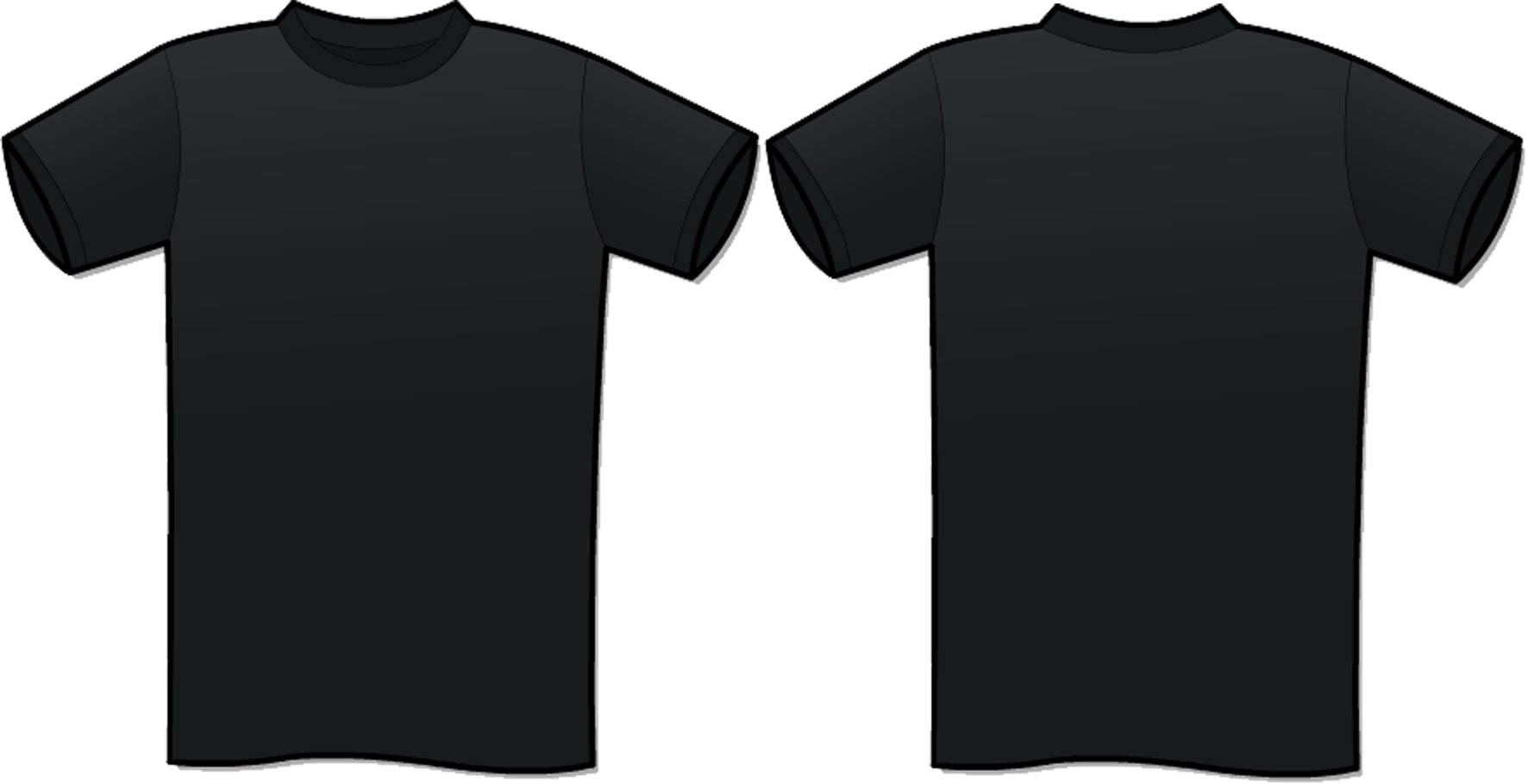 Tshirt template clipart best for Blank t shirt design template
