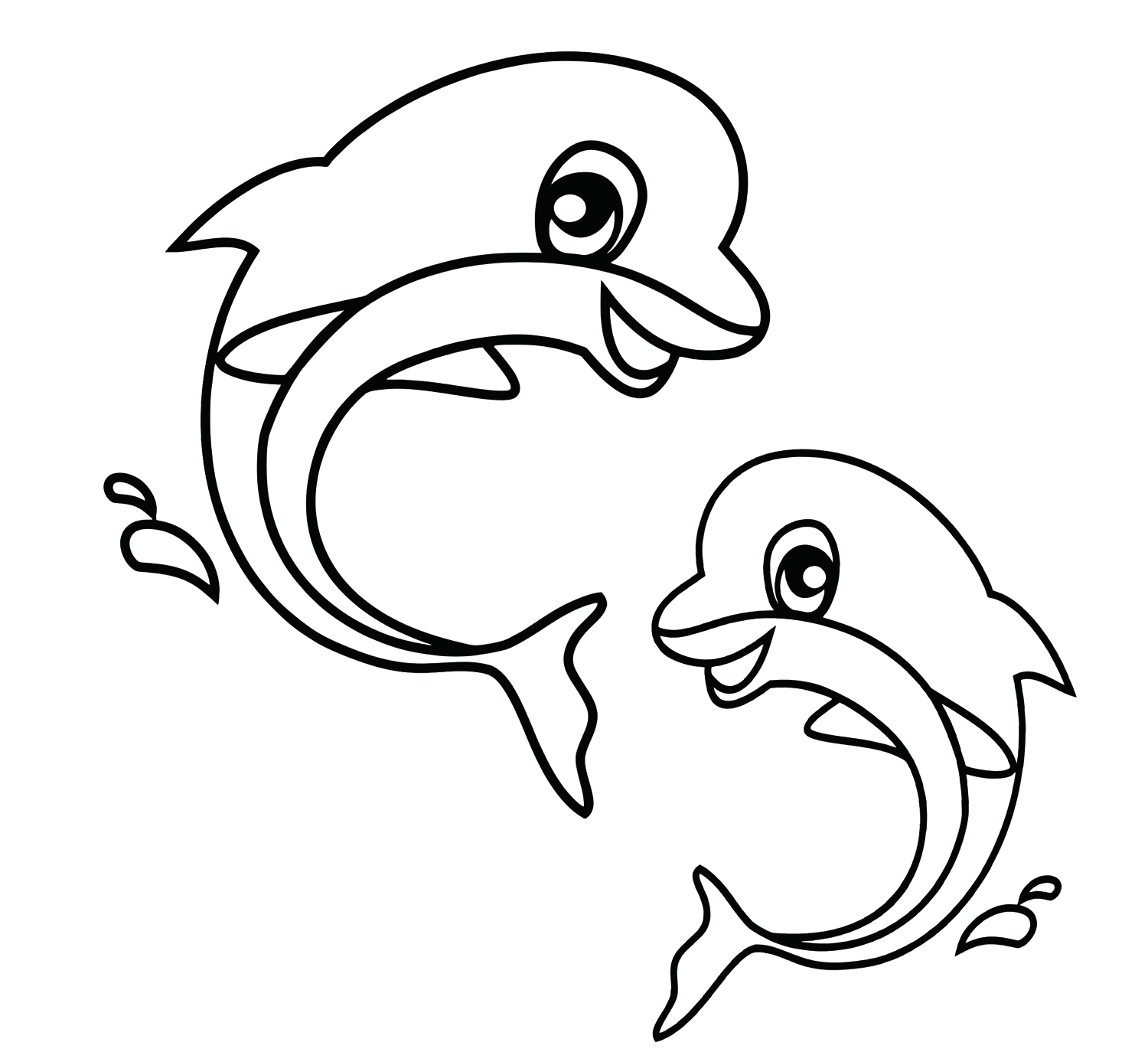cute coloring pages animals clipart best