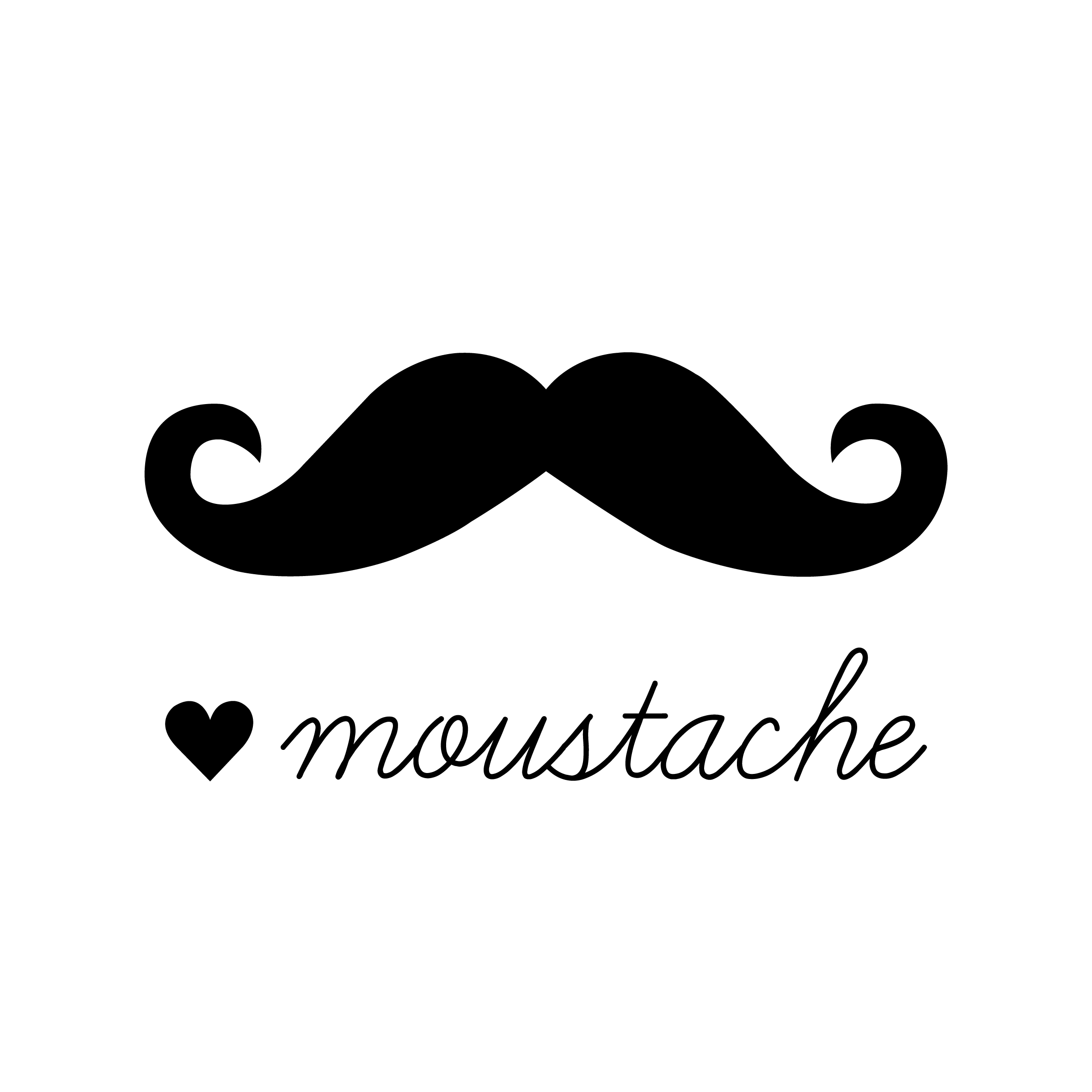 how to get a curly mustache