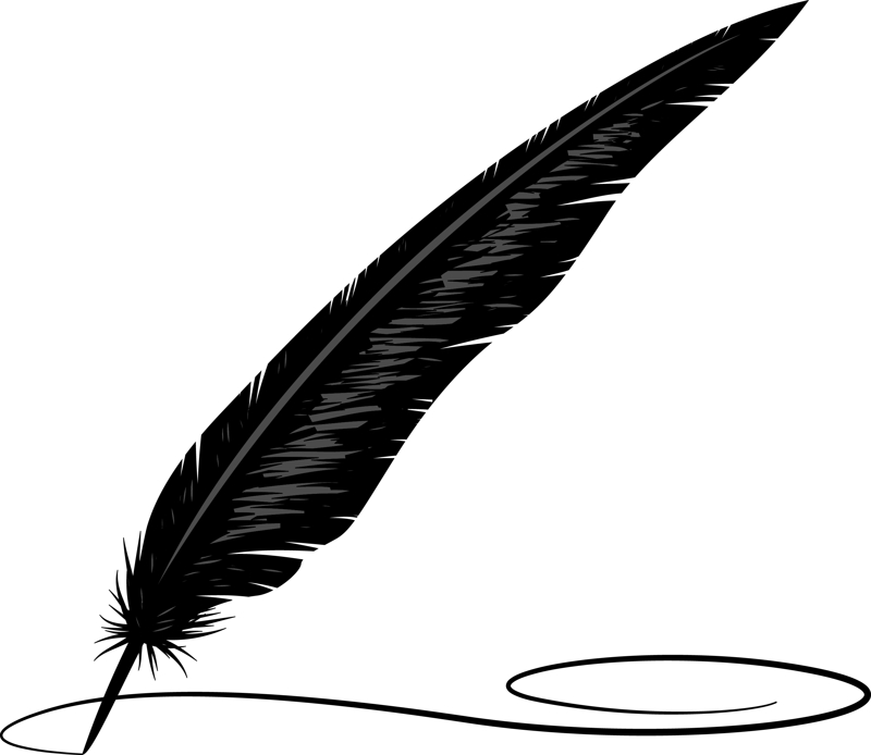 Quill clipart best
