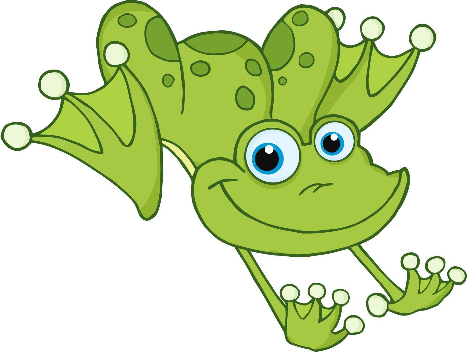 Jumping frog animation - photo#6