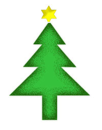 Modern Christmas Tree Clip Art - ClipArt Best