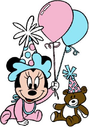 Mouse First Birthday Clip Art - ClipArt Best