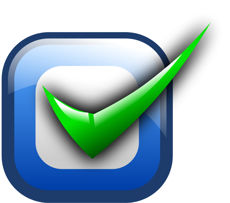 Clipart - Checkbox - checked