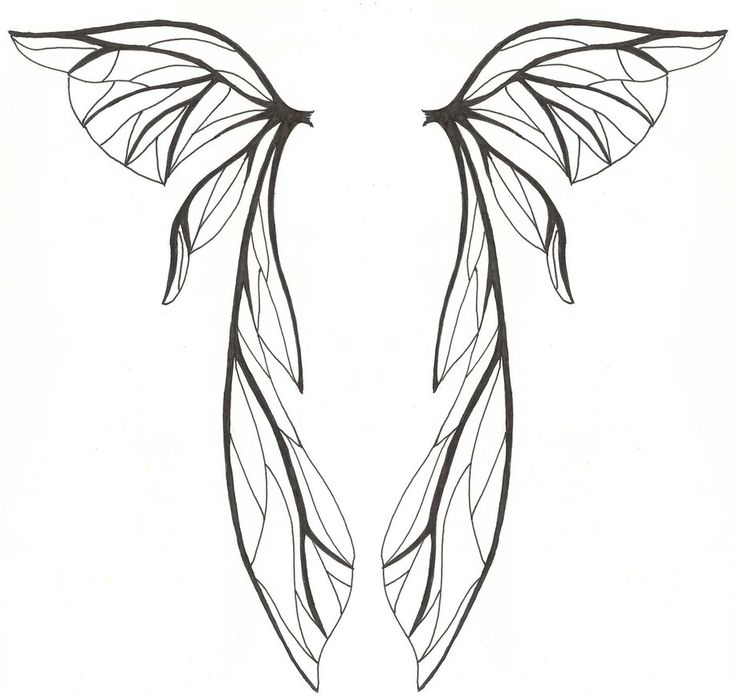 Wing With Broken Heart Clip Art Tribal Tatoo Angels Wings