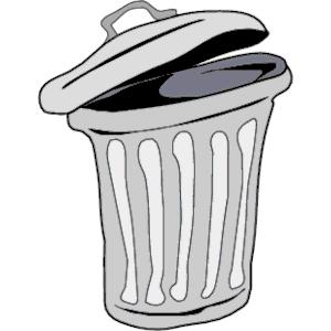 Garbage Bin Clipart - ClipArt Best