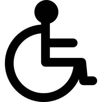 Wheelchair Sign Vectors, Photos and PSD files | Free Download