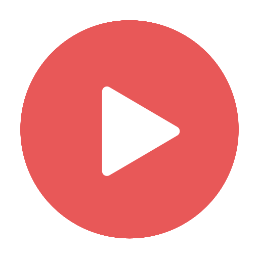 Modern, play, red, stream, video, videos icon | Icon search engine