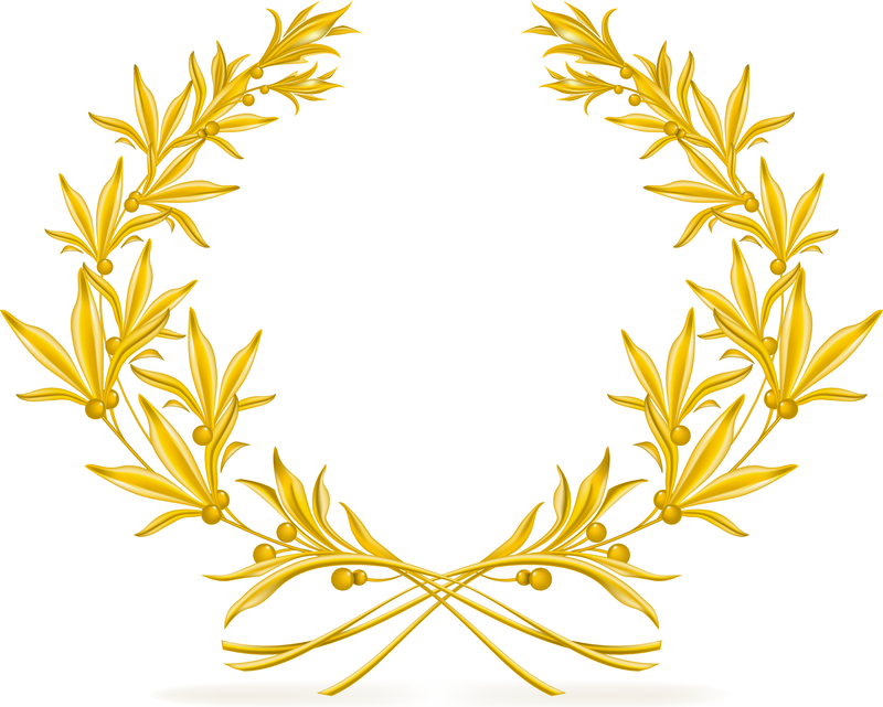 Golden Olive Branch Vector - Vector download