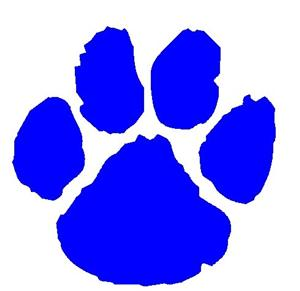 Wildcat Paw Prints - ClipArt Best