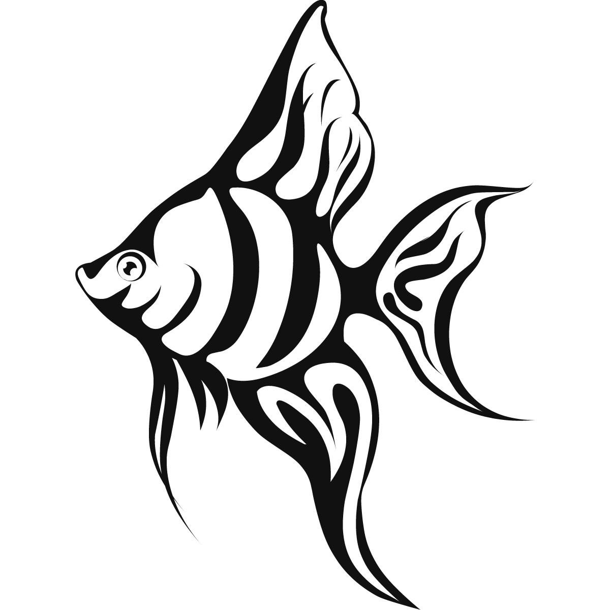 Tropical Fish Drawings - ClipArt Best