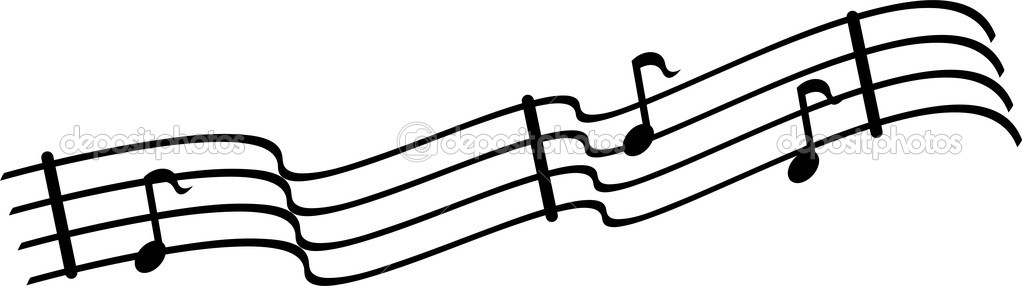 Line Art Music Notes : Sheet music clip art clipart best