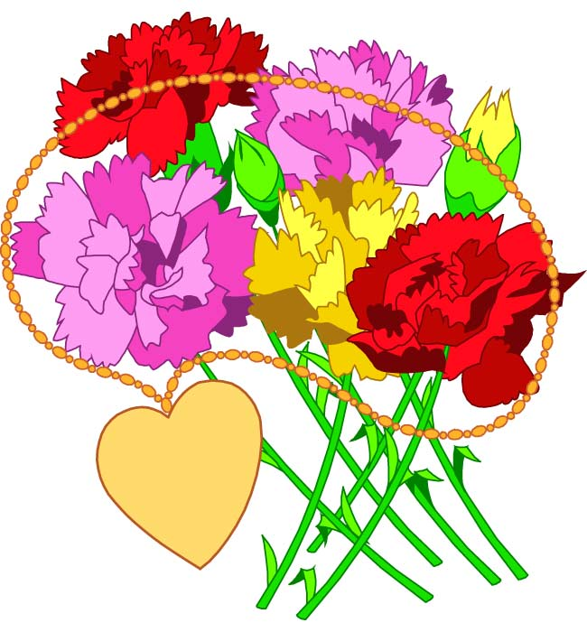 free clipart bouquet of flowers - photo #40