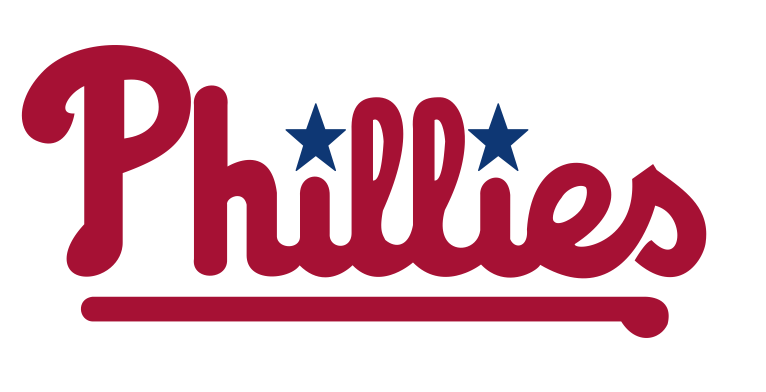 Phillies logo black and white clipart