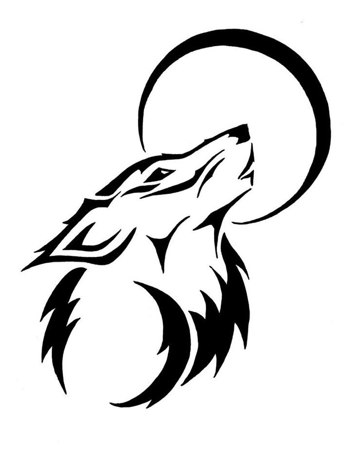How To Draw A Easy Wolf - ClipArt Best