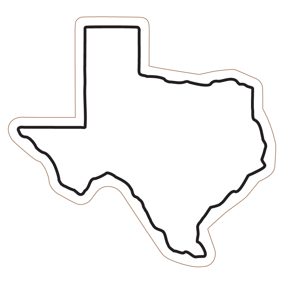 texas coloring page - texas state coloring page clipart best