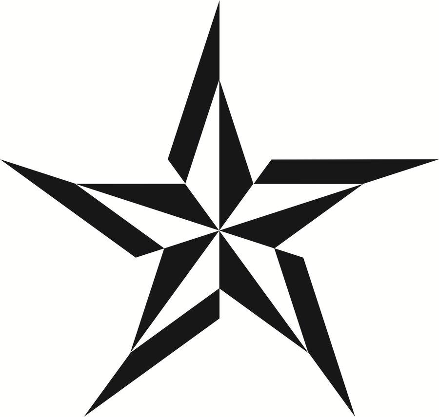 nautical star outline clipart best. Black Bedroom Furniture Sets. Home Design Ideas