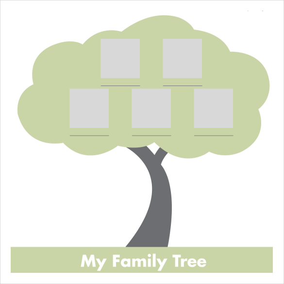 Fishbone diagram blank template clipart best for Plain family tree template
