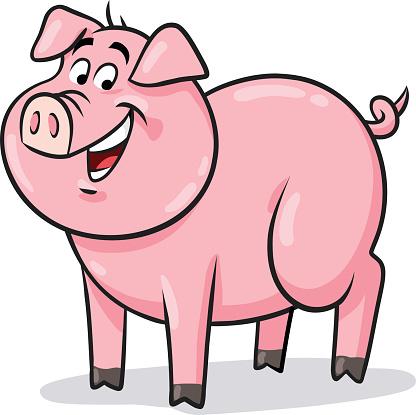 Pig cartoon images