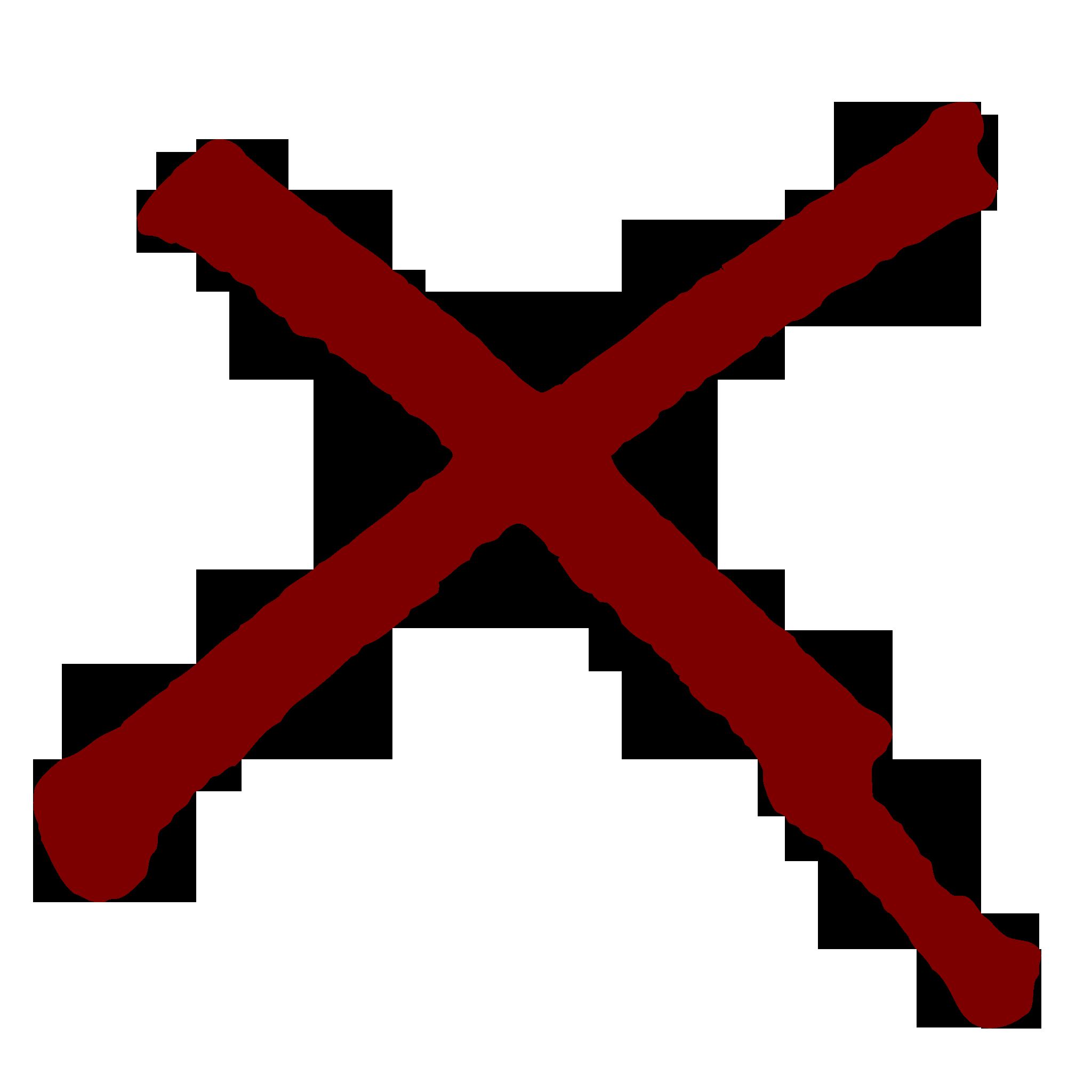 X Icon Transparent Red X Icon Transparent...