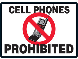 Cell Phone Prohibited Clipart Best