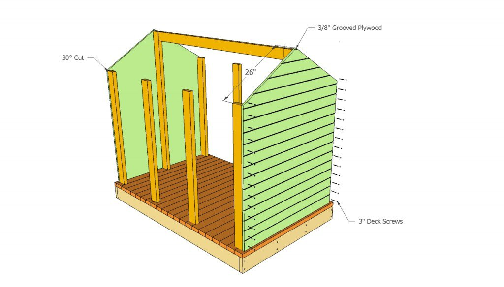 Playhouse Outline - ClipArt Best