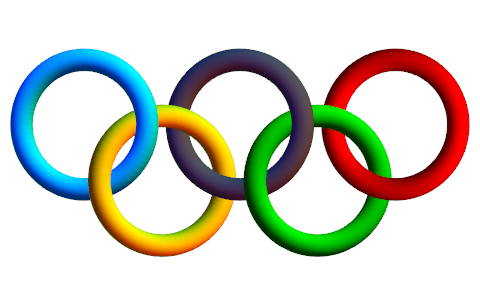 Olympic Rings Clipart