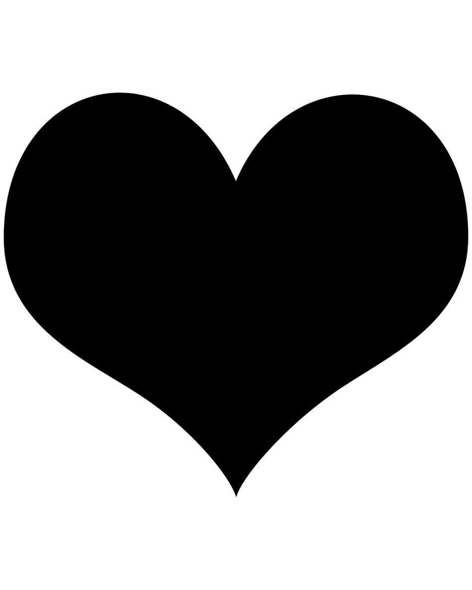 Small Heart Template Clipart - Free to use Clip Art Resource